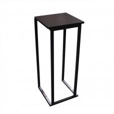 Стол черный loft 1,1*0,45 м