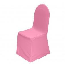 Чехол для стула розовый