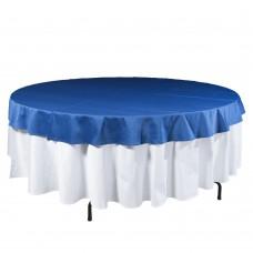 Наперон круглый темно - синий Ø2,2м