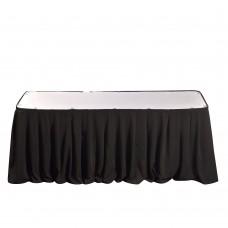 Фуршетная юбка черная 5.8м