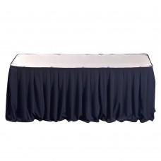 Фуршетная юбка синяя 5.8м