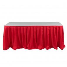 Фуршетная юбка красная 5.8м