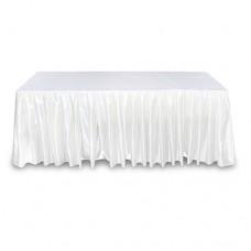 Фуршетная юбка белая 5.8м