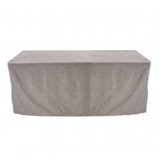 Льняная скатерть прямоугольная на стол 1,8*0,8м