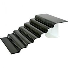 Лесенка матовая черная 7 ступеней