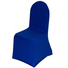 Чехол стрейч на стул синий